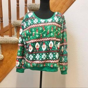 ⭐️5/$20⭐️ Fuzzy Christmas Sweatshirt